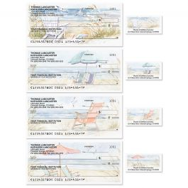 By the Sea Single Checks with Matching Address Labels