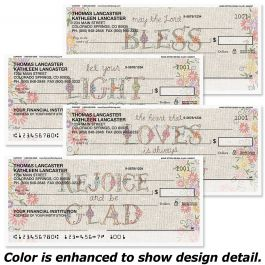 Hand Stitch Duplicate Checks