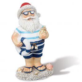Lifesaver Coastal Santa Figurine