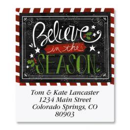 Believe In The Season Select Address Labels