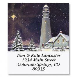 December Light Select Return Address Labels