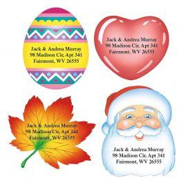 return address stickers \u2022 heart \u2022 lainey \u2022 24 stickers