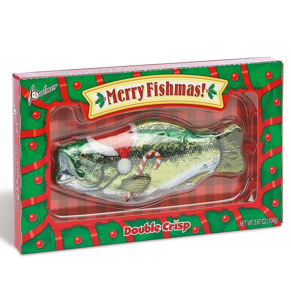 Merry Fishmas Chocolate Bass