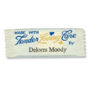 Made with Tender Loving Care By Personalized Sewing Labels