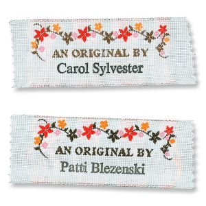 An Orginal By Personalized Sewing Label