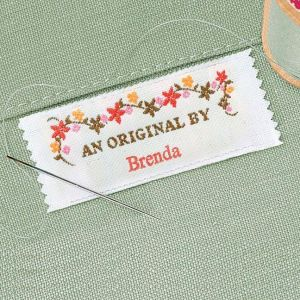 An Original By Personalized Sewing Label