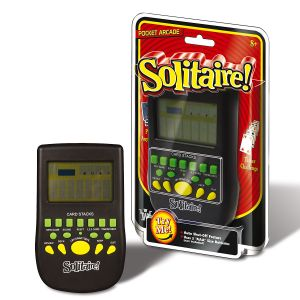 Classic Handheld Solitaire Game