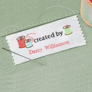 Created by Personalized Sewing Label