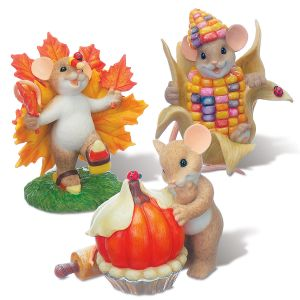 Thanksgiving Figurines by Charming Tails®