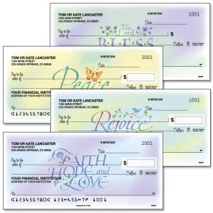 Expressions of Faith® Personal Checks