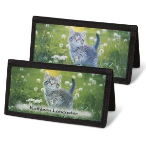Cuddly Kittens  Checkbook Cover - Non-Personalized