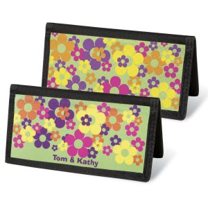 Feeling Groovy Personal Checkbook Covers