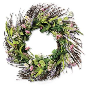 Summer-Mix Floral Wreath