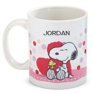 PEANUTS®  Personalized Valentine Mug