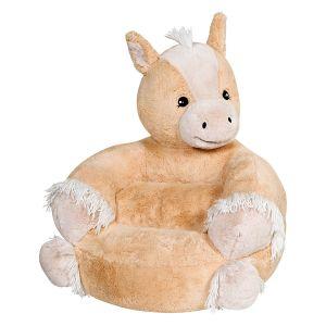 Plush Pony Children's Character Chair