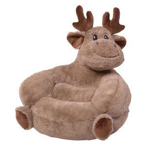Plush Moose Children's Character Chair