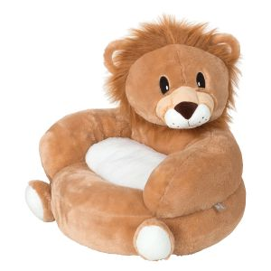Plush Lion Children's Character Chair