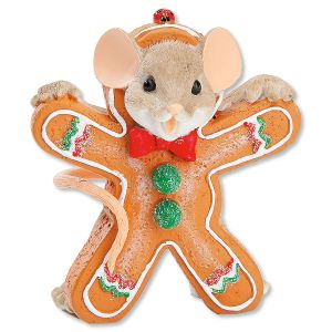 Gingerbread Mouse by Charming Tails®
