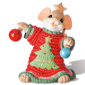 That's One Treee-ific Sweater Figurine by Charming Tails®
