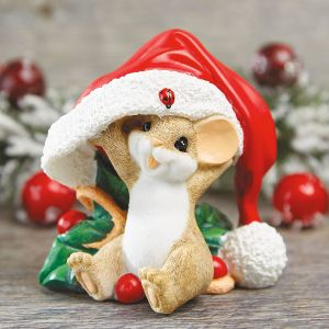 There's No Hiding Your Holiday Spirit Figurine by Charming Tails®