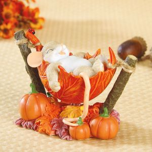 Mouse on Leaf Hammock by Charming Tails®
