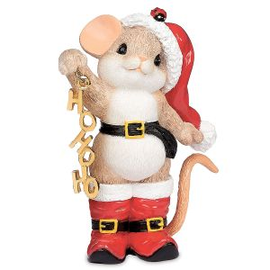 It's Time to Let Your Ho-Ho-Ho Show Figurine by Charming Tails®