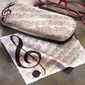 Music Eyeglass Case
