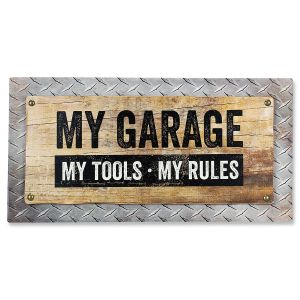 My Garage Rules Sign