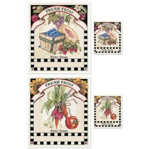 Sandi's Farmer's Market Canning Labels