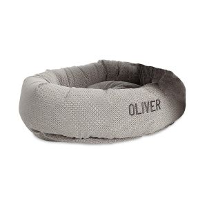 Custom Silver Treats Dog Bed by Bowsers Pet Products