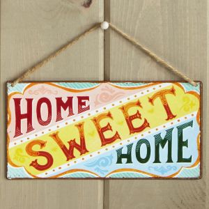 Home Sweet Home Decorative Metal Sign