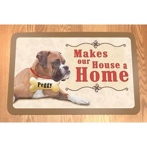 Makes Our House A Home Personalized Doormat