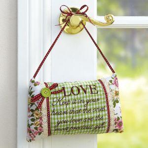 Fabric Hanging Pillow