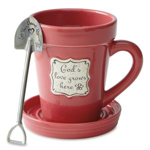 God's Love Grows Here Mug