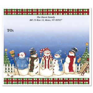 Sandi's Snowbuddies  Package Labels