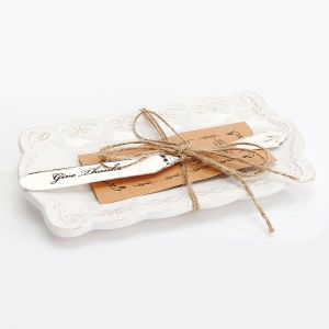 Butter Dish and Knife