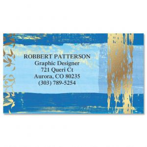 Impressions  Foil Business Cards