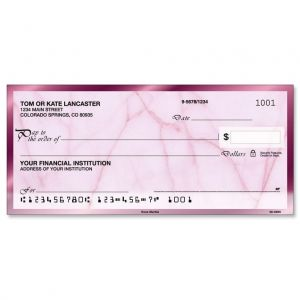Rose Marble Personal Checks