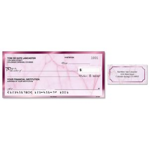 Rose Marble Duplicate Checks With Matching Address Labels