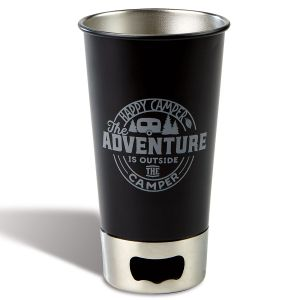 Adventure Camper Metal Pint Cup