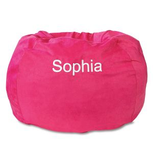 Custom Fuchsia Bean Bag Chair