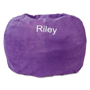 Custom Purple Bean Bag Chair