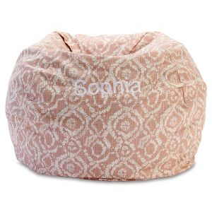 Custom Blush Bean Bag Chair