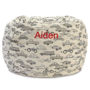 Custom Retro Rides Bean Bag Chair