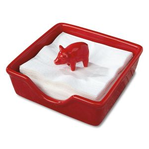 Ceramic Pig Napkin Holder