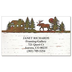 Country Lodge Business Cards