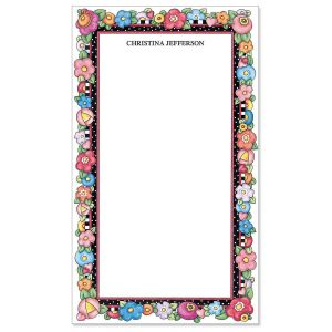Mary's Bright Blossoms Notepad