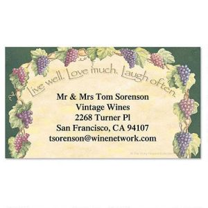 Live, Love, Laugh Business Cards