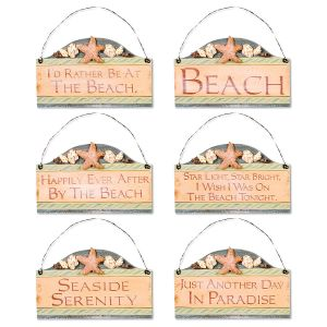 Beach Sign Decoration