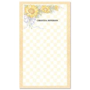 Sunflower Bouquet Notepad
